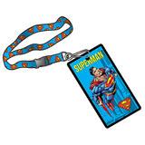Superman Lanyard With Pocket