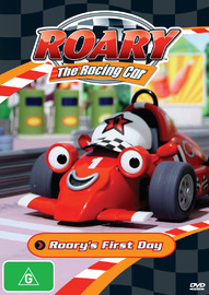 Roary The Racing Car - Roary's First Day on DVD