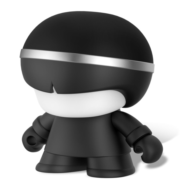 "Xoopar Boy: 3"" Bluetooth Speaker - Matt Black"