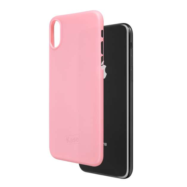 Kase Go Original iPhone X Slim Case- Pretty in Pink