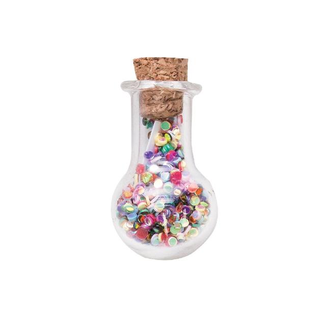 Short Story Trinket Bottle - Happiness