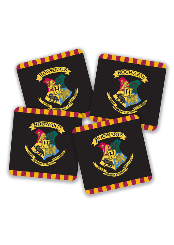 Harry Potter: Hogwarts Crest Coasters (Set of 4)