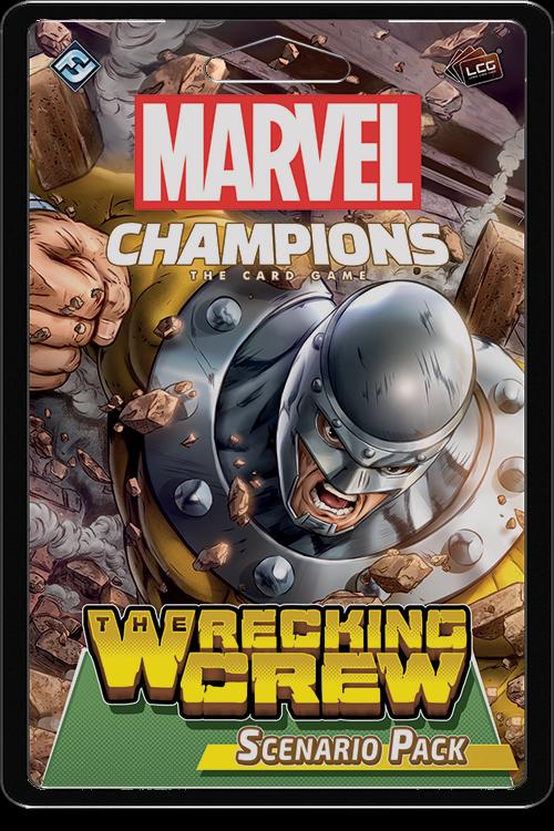 Marvel Champions - The Wrecking Crew Scenario Pack image