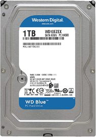 "1TB WD Blue 3.5"" 7200RPM SATA HDD"