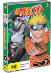 Naruto (Uncut) - Vol. 03: The Forest Of Chakra on DVD