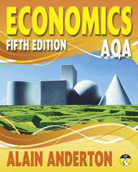 AQA A Level Economics Student Book by Alain Anderton image