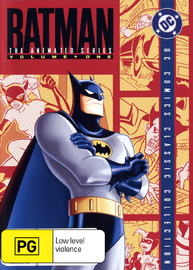 Batman - The Animated Series: Complete Season 1 Volume 1 (4 Disc Set) on DVD image
