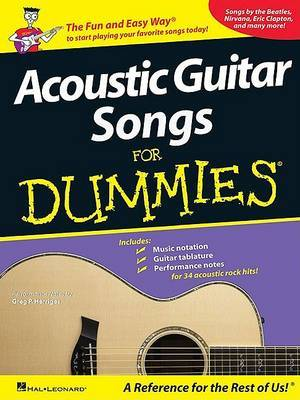 Acoustic Guitar Songs for Dummies image