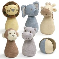 Gund: Playful Pals - Mini Bowling Set