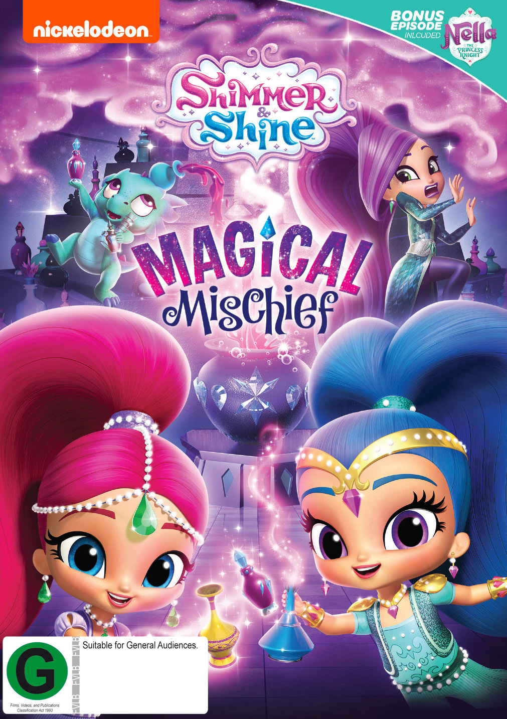 Shimmer & Shine: Magical Mischief on DVD image