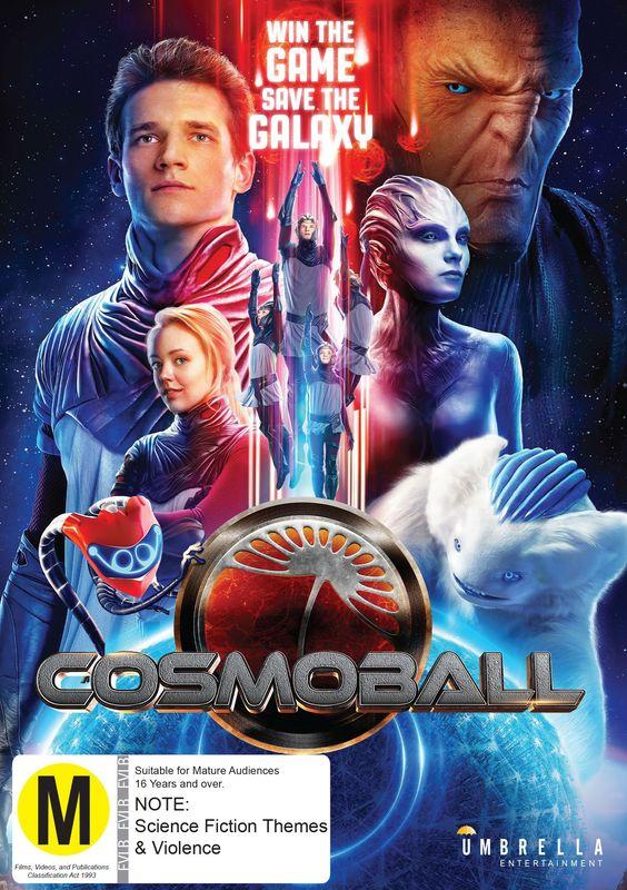 Cosmoball on DVD