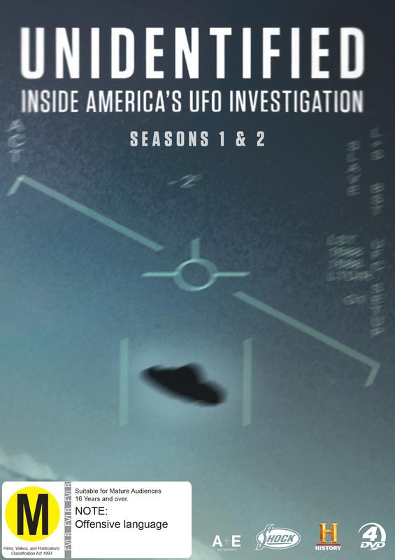 Unidentified: Inside America's UFO Investigation: Seasons 1-2 on DVD