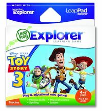 LeapPad / Leapster Explorer Learning Game: Toy Story 3