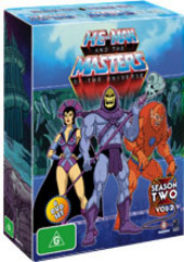He-Man And The Masters Of The Universe - Season 2: Vol. 2 (6 Disc Box Set) on DVD