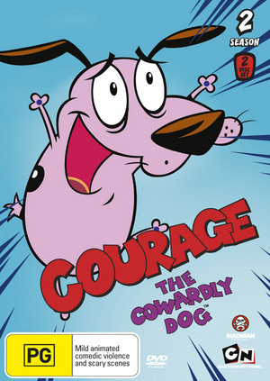 Courage the Cowardly Dog - Season 2 on DVD