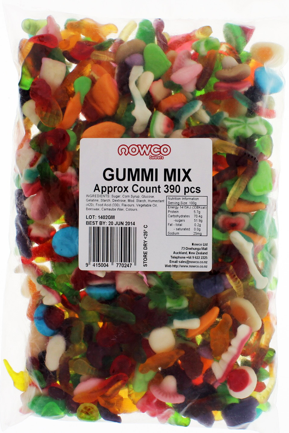 Nowco Gummi Mix 1.9kg image