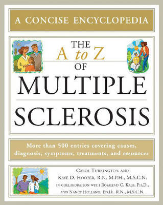 The A to Z of Multiple Sclerosis by Carol Turkington image
