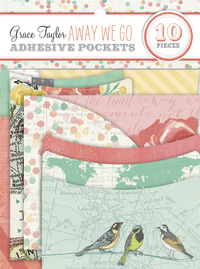 Grace Taylor: Away We Go - Adhesive Pockets