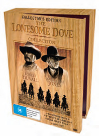 The Lonesome Dove Collection - Wood Pack (6 Disc Set) DVD image