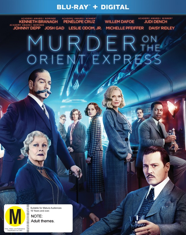 Murder On The Orient Express on Blu-ray