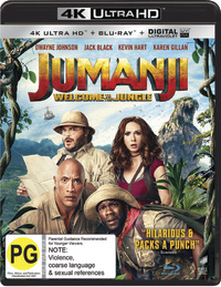 Jumanji: Welcome to the Jungle (4K UHD + Blu-ray) on UHD Blu-ray
