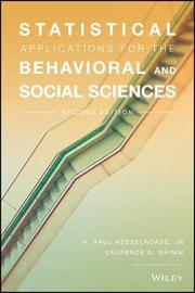 Statistical Applications for the Behavioral and Social Sciences by Paul Nesselroade image
