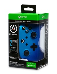 Xbox One Enhanced Wired Controller - Sapphire Fade for Xbox One