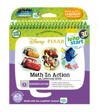 Leapstart 3D: Disney Pixar - Math In Action With Listening Skills (Level 3)
