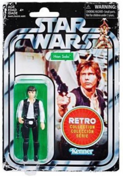"""Star Wars: Han Solo - 3.75"""" Retro Action Figure"""