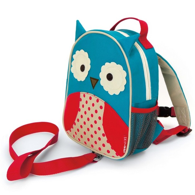 Skip Hop: Zoo Let Safety Harness Backpack - Owl