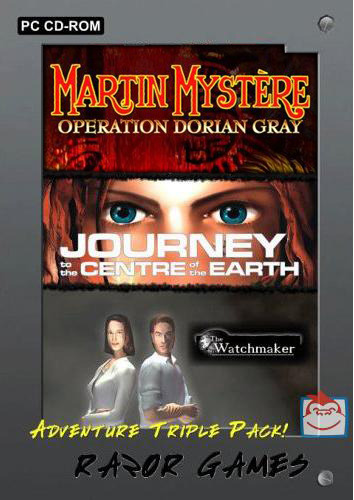 Adventure Triple Pack: Journey to the Centre of the Earth/Martin Mystere/Watchmaker for PC Games