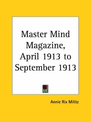 Master Mind Magazine (1913): v. 4