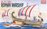Academy B.C. Roman Warship 1/250 Model Kit