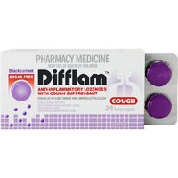 Difflam Lozenges - Sugarfree Blackcurrant (24's)