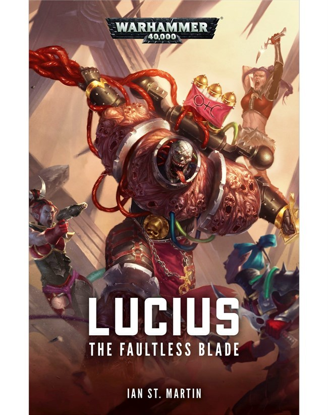Lucius: The Faultless Blade by Ian St Martin image