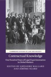 Cambridge Studies in Law and Society
