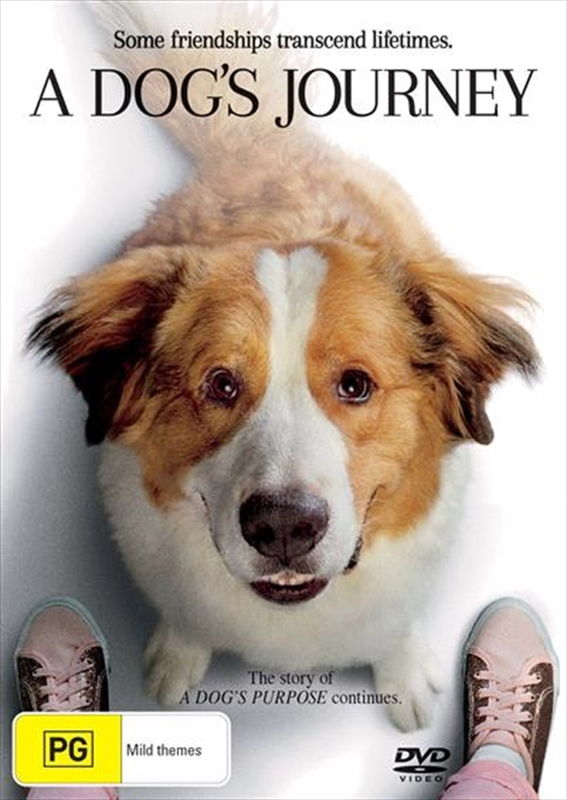 A Dog's Journey on DVD