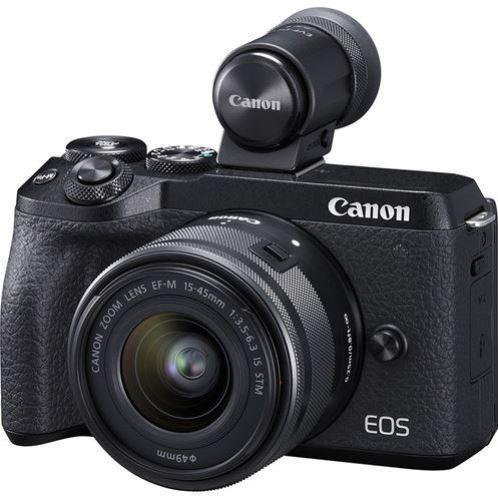 Canon: EOS M6 Mk II 32.5MP CMOS Mirrorless Camera w/ 15-45mm Lens