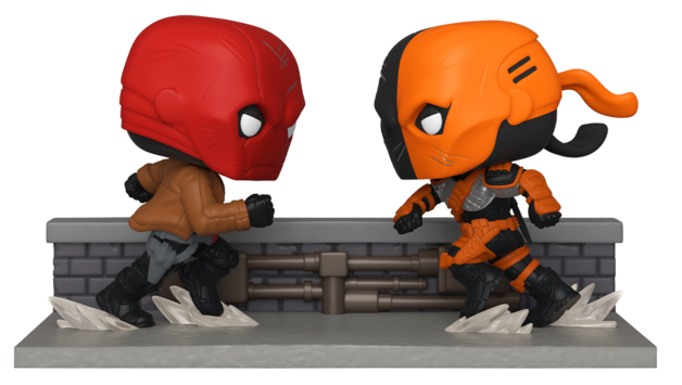 DC Comics: Red Hood Vs. Deathstroke - Pop! Comic Moment Vinyl