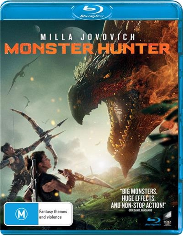 Monster Hunter on Blu-ray