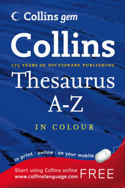 Thesaurus A-Z image