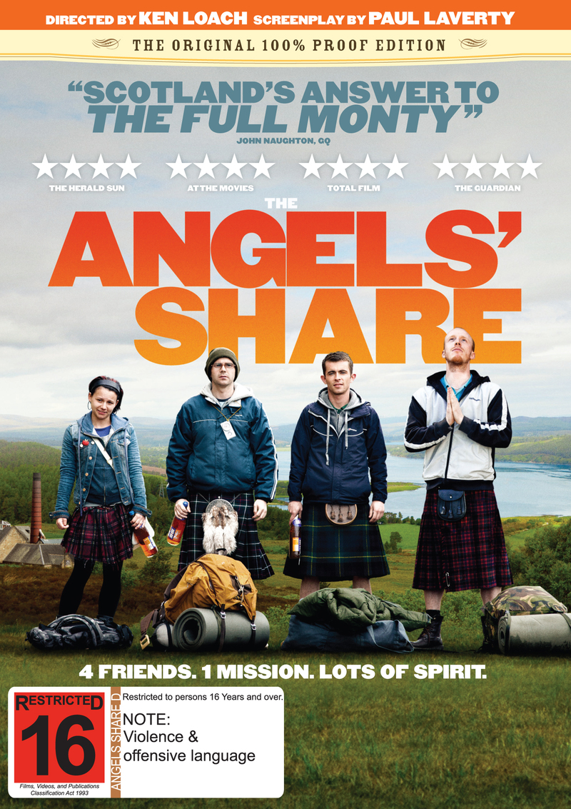 The Angels' Share on DVD image