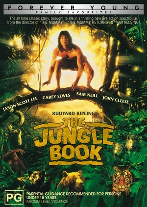 Rudyard Kipling's Jungle Book on DVD image