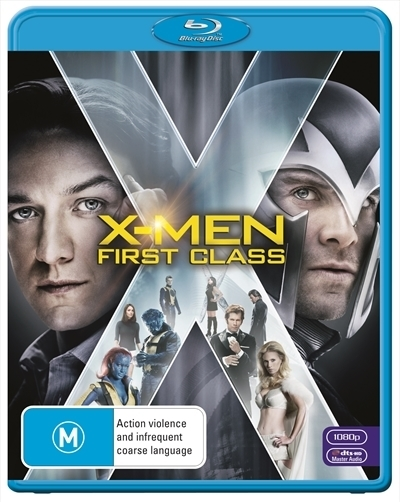 X-Men: First Class on Blu-ray image
