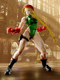 S.H.Figuarts Street Fighter: Cammy - Action Figure