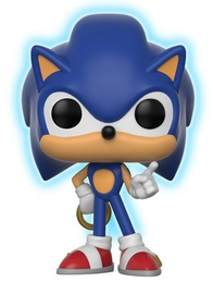 Sonic the Hedgehog - Sonic with Ring (Glow) Pop! Vinyl Figure