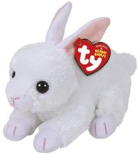 Ty Beanie Babies: Cotton Rabbit (White) - Small Plush