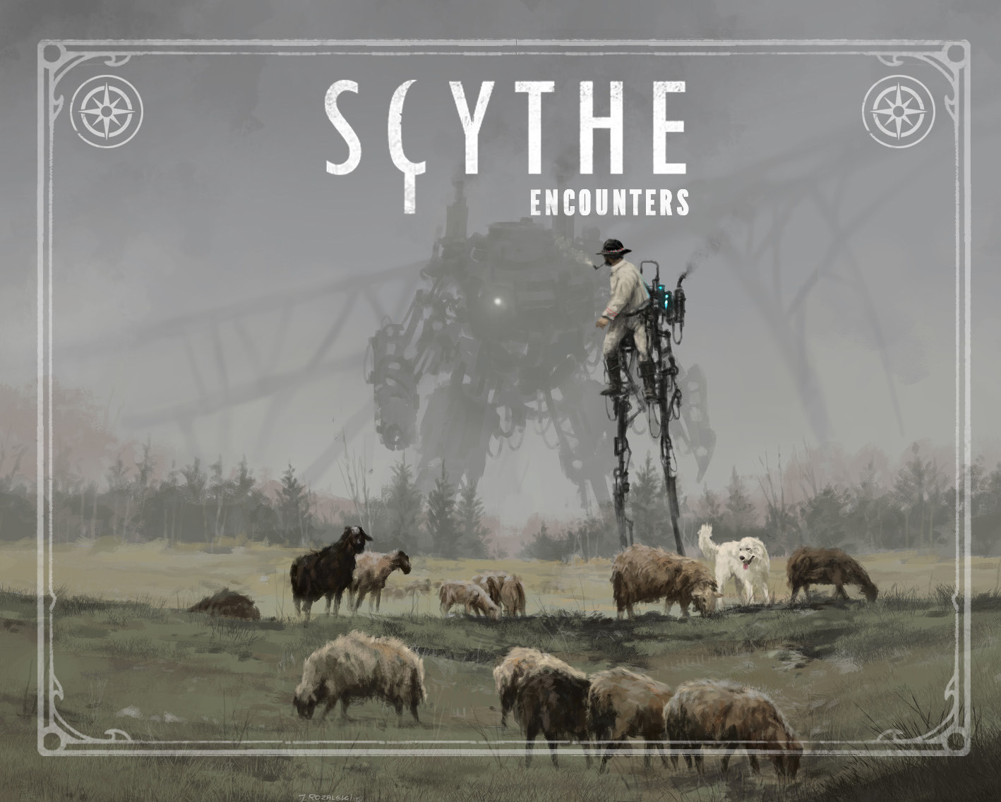 Scythe: Encounters - Game Expansion image