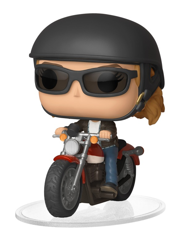 Captain Marvel: Carol Danvers on Motorcycle - Pop! Ride Vinyl Figure