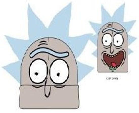 Rick and Morty Big Face Beanie Rick image
